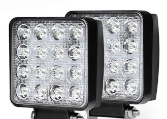 48W Square LED Light Pods Spot، Power Light کار نور صرفه جویی در انرژی